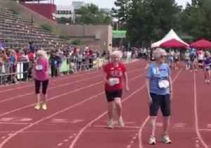 103-Year-Old Woman Sets Record in 50 Meter Dash at National Senior Games [Video]