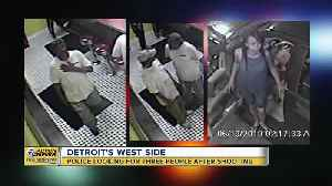 Police looking for 3 people after coney island shooting in Detroit [Video]