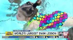 Free learn-to-swim lessons for kids on Thursday [Video]