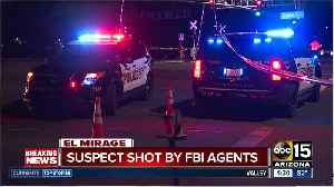 Two suspects hurt in El Mirage shooting with FBI officials [Video]