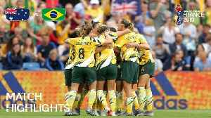 News video: Australia v Brazil - FIFA Women's World Cup France 2019™
