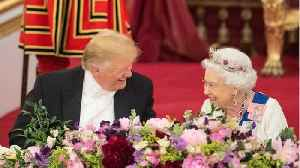 Trump told that Queen 'hadn't had so much fun in 25 years' during his visit [Video]