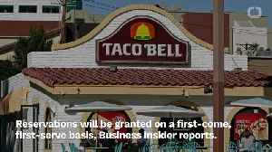 Taco Bell Is Opening A Taco Bell-Themed Hotel [Video]