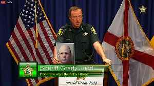 Florida deputy arrested for trying to solicit a child in Polk County   Press Conference [Video]