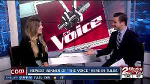 """Maelyn Jarmon, winner of NBC's """"The Voice,"""" joins us live in-studio [Video]"""
