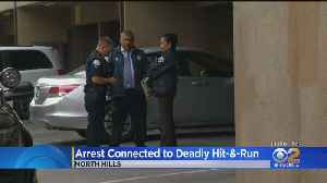 Passenger Arrested In Fiery North Hills Hit-And-Run Which Killed A Father; Suspect Still At Large [Video]