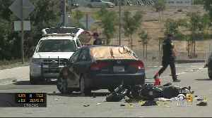 Motorcyclist Killed In Early Morning Fremont Hit-And-Run Crash [Video]