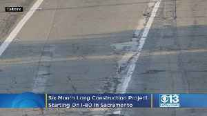 Six-Month Long Construction Project Starting On Interstate 80 In Sacramento [Video]
