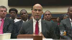 Booker, Others Argue For Slavery Reparations [Video]