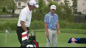 Father, son compete in the Watson Golf Challenge [Video]