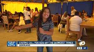 Kids Say the Darndest Things reboot casting call held at Legoland [Video]