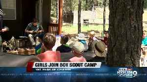 Girls join Boy Scout camp on Mt. Lemmon for first time [Video]