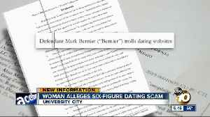 Woman claims San Diego CEO scammed her of $600K in online dating scheme [Video]
