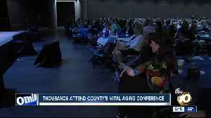Thousands attend county's Vital Aging conference [Video]