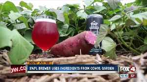 Local brewery uses ingredients from community garden [Video]