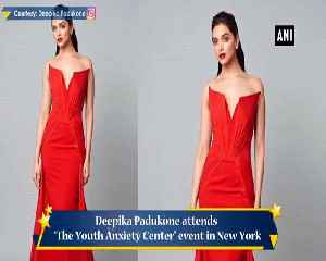 Deepika Padukone stuns at The Youth Anxiety Center event in New York [Video]