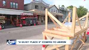'A Quiet Place 2' to start filming on July 15th in Akron [Video]