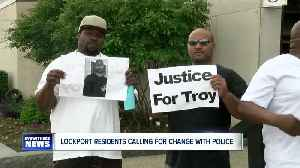 Lockport Community outraged over young man's death in police custody [Video]