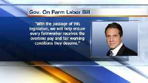 State lawmakers ok Farmworker Rights Bill [Video]