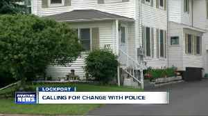 Lockport neighbors calling for change after man dies in police custody [Video]