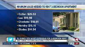 Florida ranks 15th most expensive for 2-bedroom rent [Video]