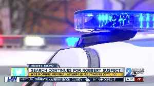 Suspect sought in Baltimore County robberies [Video]