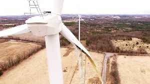 Sickening crash footage of drone's final flight into exploded wind turbine [Video]