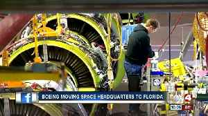 News video: Boeing is moving space headquarters to Florida
