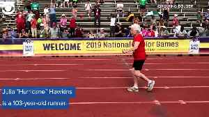 WEB EXTRA: 103-Year-Old Runner [Video]