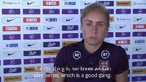 News video: England captain Steph Houghton praises Lionesses 'unbelievable' defending