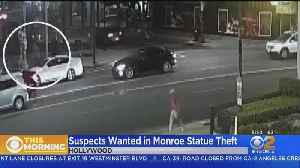 LAPD Looking For 4 Suspects In Marilyn Monroe Statue Theft [Video]