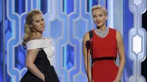 News video: Amy Schumer's baby is coming between her and pal Jennifer Lawrence's texting sessions