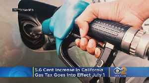 New California Gas Tax Goes Into Effect July 1 [Video]