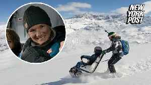 Wheelchair-bound mom proves anything is possible with skiing trip [Video]