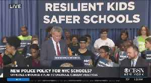 Officials Announce Plan To Overhaul Police Policy In NYC Schools [Video]