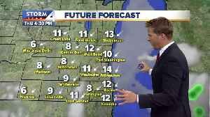 More sunshine Thursday afternoon [Video]
