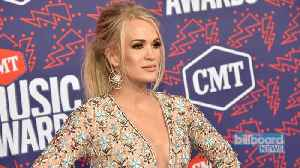 News video: Carrie Underwood Facing Lawsuit Over 'Sunday Night Football' Theme Song | Billboard News