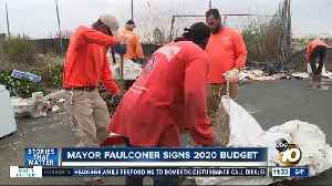 Mayor Faulconer signs 2020 budget [Video]