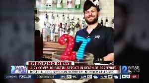 Murder and robbery charges declared mistrial in death of Canton Bartender [Video]