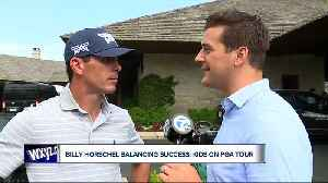 Billy Horschel balancing success, kids on PGA Tour [Video]