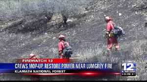 HIGHWAY 96 REOPENS WITHOUT RESTRICTIONS AS FIREFIGHTERS GAIN ON LUMGREY FIRE [Video]