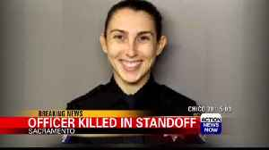 News video: Sacramento officer shot, killed by domestic violence suspect