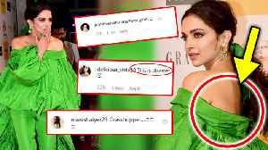 Deepika Padukone TROLLED For Her Green Outfit | Grazia Millennial Awards 2019 [Video]