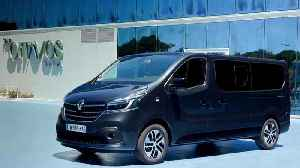 2019 New Renault TRAFIC SPACECLASS Design in Portugal [Video]