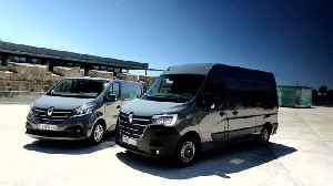 2019 New Renault TRAFIC and MASTER range in Portugal [Video]