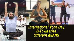 International Yoga Day: B-Town tries different ASANS [Video]