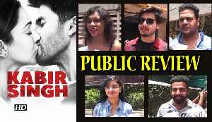 KABIR SINGH | PUBLIC REVIEW | Shahid Kiara LOVE STORY [Video]