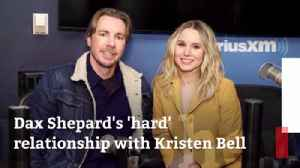 Dax Shepard Works Through Things With Kristen Bell [Video]
