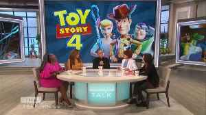 The Talk - Tim Allen Says Keanu Reeves' 'Toy Story' Character 'stole the show' [Video]