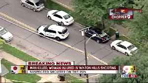 Man killed, woman wounded in Winton Hills shooting [Video]